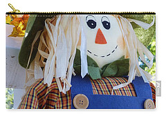 Happy Scarecrow Carry-all Pouch