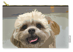 Happy Shih Tzu Carry-all Pouch