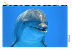 Happy Smiling Dolphin Carry-all Pouch
