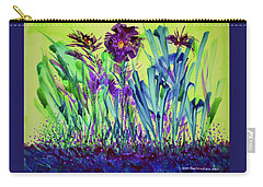 Happy Spring Carry-all Pouch by Joan Hartenstein