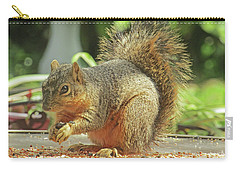 Happy Squirrel Carry-all Pouch