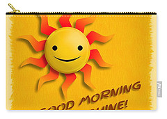 Happy Sun Face Carry-all Pouch