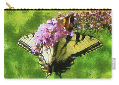 Happy Swallowtail Butterfly Carry-all Pouch