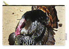 Happy Thanksgiving Carry-all Pouch by Joseph Frank Baraba