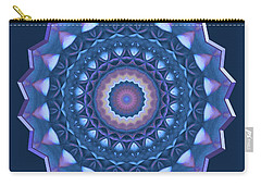 Happy To Be Blue Carry-all Pouch