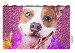 Hapy Dog Carry-all Pouch by Stephanie Hayes