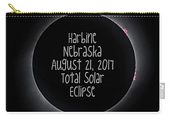 Harbine Nebraska Total Solar Eclipse August 21 2017 Carry-all Pouch