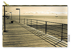 Harbor Beach Michigan Boardwalk Carry-all Pouch
