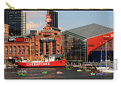 Harbor Fun Carry-all Pouch by Karen Harrison