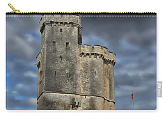 Harbor Of La Rochelle Carry-all Pouch by Anthony Dezenzio