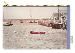 Harbor Red Carry-all Pouch by JAMART Photography
