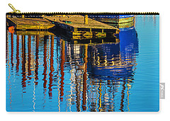 Harbor Reflections Carry-all Pouch by Garry Gay