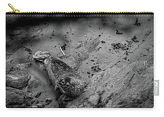 Harbor Seal Pup Monochrome  Carry-all Pouch