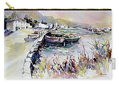 Harbor Shapes Carry-all Pouch by Rae Andrews