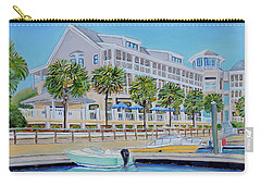 Harborside Marina Carry-all Pouch by Shelia Kempf