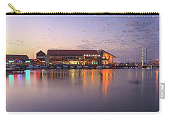 Carry-all Pouch featuring the photograph Harbour Lights, Hillarys Boat Harbour by Dave Catley