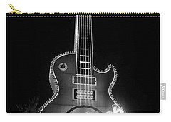 Hard Rock Cafe Sign B-w Carry-all Pouch
