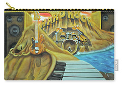 Carry-all Pouch featuring the painting Hard Rock by Thomas J Herring