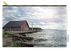 Carry-all Pouch featuring the photograph Hardy Gallery by Joel Witmeyer