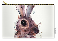Hare Carry-all Pouch by Dawn Derman