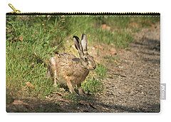 Hare In The Woods Carry-all Pouch