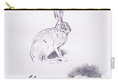 Hare Studies Carry-all Pouch
