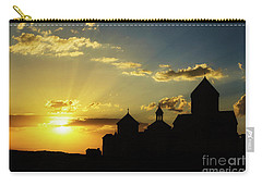 Harichavank Monastery At Sunset, Armenia Carry-all Pouch