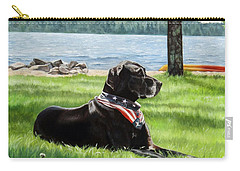 Harley At The Beach Carry-all Pouch