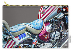 Carry-all Pouch featuring the photograph Harley by Charuhas Images