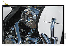 Carry-all Pouch featuring the photograph Harley Davidson 15 by Wendy Wilton