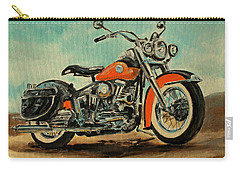 Harley Davidson 1956 Flh Carry-all Pouch