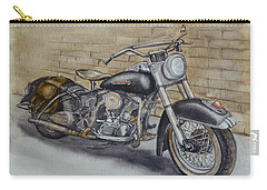 Harley Davidson Vintage 1950's Carry-all Pouch