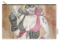 Harley Quinn And Her Popgun Carry-all Pouch