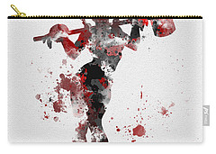 Harley Quinn Carry-all Pouch by Rebecca Jenkins