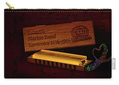 Harmonica 01 Carry-all Pouch by Kevin Chippindall