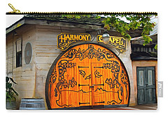 Carry-all Pouch featuring the photograph Harmony Chapel Harmony California by Barbara Snyder