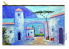 Carry-all Pouch featuring the painting Harmony Of Como by Larry Cirigliano