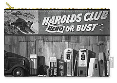 Harold's Club Carry-all Pouch by Marius Sipa