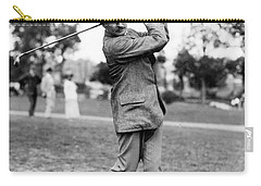 Harry Vardon - Golfer Carry-all Pouch by International  Images