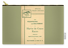 Harve De Grace Races Carry-all Pouch