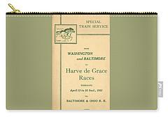 Harve De Grace Races Carry-all Pouch