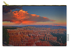 Harvest Moon Over Bryce National Park Carry-all Pouch