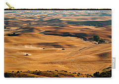 Harvest Overview Carry-all Pouch by Mary Jo Allen