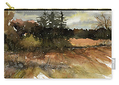 Harvest Snow Carry-all Pouch by Judith Levins