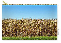 Carry-all Pouch featuring the photograph Harvest Time by Ricky L Jones