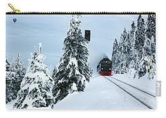 Harz Ballooning And Brocken Railway Carry-all Pouch by Andreas Levi