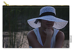 Hat At Sunset Carry-all Pouch