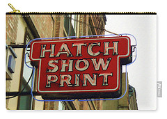 Hatch Show Print Carry-all Pouch