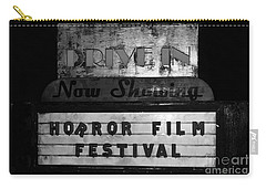 Haunted Drive In Carry-all Pouch by David Lee Thompson
