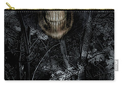 Carry-all Pouch featuring the photograph Haunted Forest by Al Bourassa